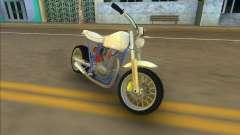 Honda FTR Custom Mini para GTA Vice City