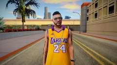 GTA Online Skin Ramdon N24 Male Los Angeles Lake para GTA San Andreas