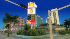 Shell Station mod para GTA Vice City