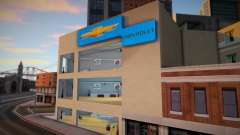 Chevrolet Showroom (Ottos Cars) para GTA San Andreas