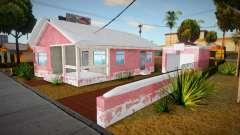 Big Smoke House Remastered Winter Edition v0.5 para GTA San Andreas