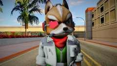 Fox from Super Smash Bros. for Wii U para GTA San Andreas