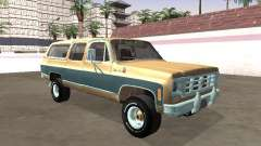 Chevrolet Suburban Deluxe 1974