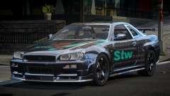 Nissan Skyline PSI Drift L9 para GTA 4