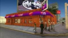 Cafe Coffee Day in Vice City para GTA Vice City