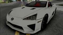 Lexus LFA 2011 SA Style [VehFuncs] para GTA San Andreas
