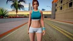 DOA6 Mai Shiranui Energy Up Training Wear para GTA San Andreas
