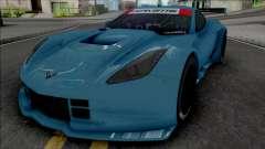 Chevrolet Corvette C7R GTE (SA Lights)