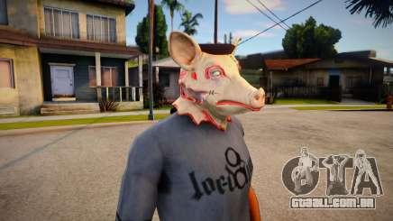 Pig Mask (GTA Online Diamond Heist) para GTA San Andreas