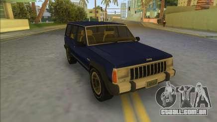 Jeep Cherokee XJ 1984-1991 para GTA Vice City