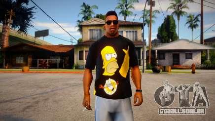 Homer T-Shirt para GTA San Andreas