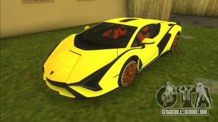 Lamborghini Sian FKP 37 para GTA Vice City