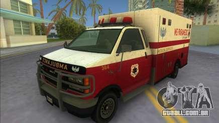 Ambulance from GTA IV para GTA Vice City