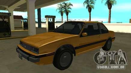 Chevrolet Cavalier Coupe 1988 para GTA San Andreas