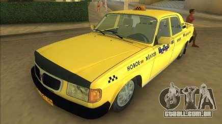 Gaz 3110 Táxi para GTA Vice City