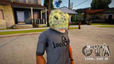Lizard mask (GTA Online DLC) para GTA San Andreas