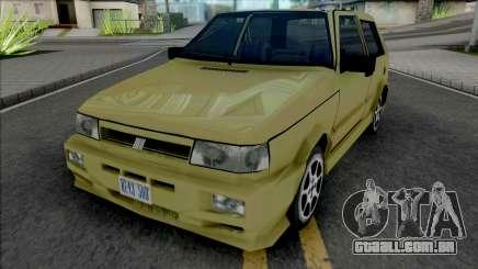 Fiat Uno [VehFuncs] para GTA San Andreas