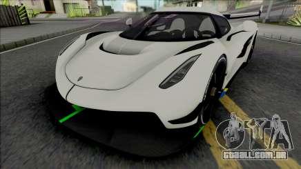 Koenigsegg Jesko para GTA San Andreas