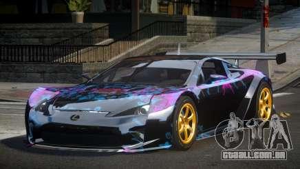 Lexus LFA PSI-R L4 para GTA 4