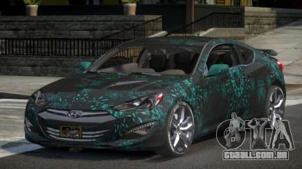 Hyundai Genesis GST Drift L8 para GTA 4