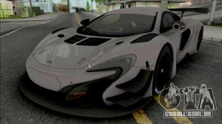 McLaren 650S GT3 (SA Lights) para GTA San Andreas