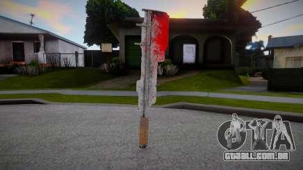 Facão sangrento para GTA San Andreas