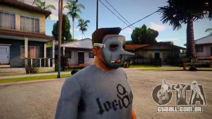 Slipknot Mask For Cj para GTA San Andreas