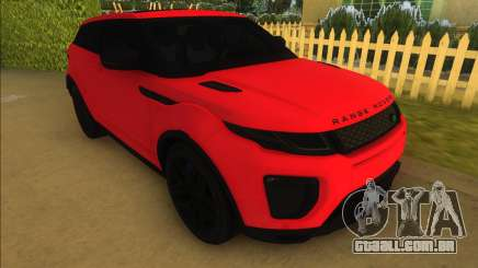 Land Rover Range Rover Evoque para GTA Vice City
