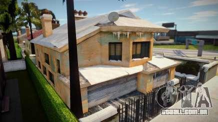 Winter VegasHome para GTA San Andreas