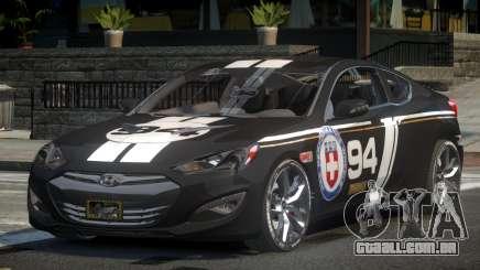 Hyundai Genesis GST Drift L1 para GTA 4