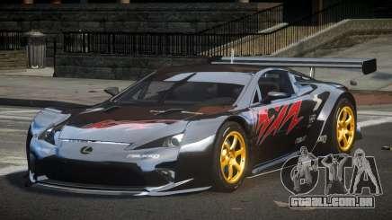 Lexus LFA PSI-R L7 para GTA 4