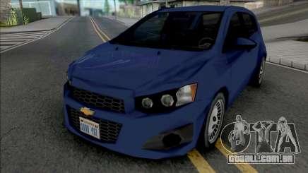 Chevrolet Sonic Hatchback 2014 Lowpoly para GTA San Andreas