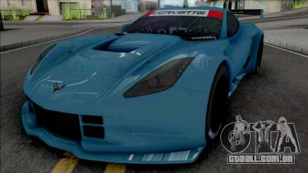 Chevrolet Corvette C7R GTE (SA Lights) para GTA San Andreas