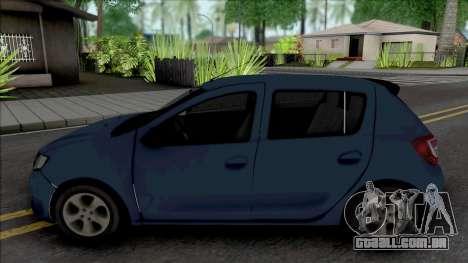 Dacia Sandero 2014 James May para GTA San Andreas