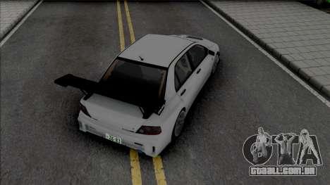 Mitsubishi Lancer Evo VII Voltex para GTA San Andreas
