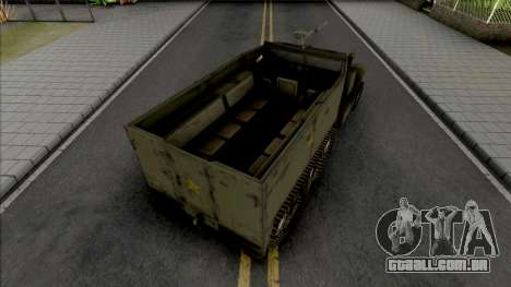 M3A1 Half-Track para GTA San Andreas