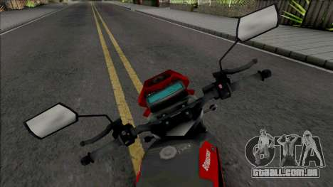 Yamaha XT600 CBMERJ (Improved) para GTA San Andreas