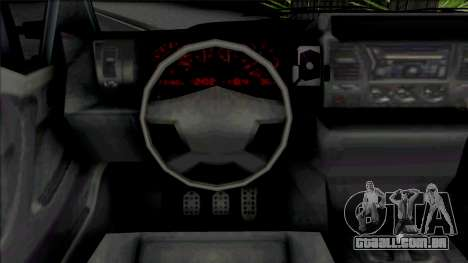 GTA V Vapid Sadler [IVF VehFuncs Extras] para GTA San Andreas