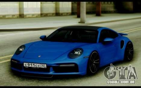 Porsche 911 Turbo S 21 para GTA San Andreas
