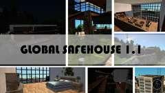 Esconderijos globais mod 1.1 para GTA San Andreas
