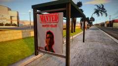 Novos anúncios em paradas para GTA San Andreas