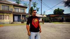 T-shirt Rammstein para GTA San Andreas