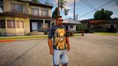 T-shirt with a lion para GTA San Andreas