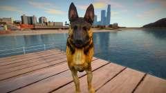 Riley the German shepherd dog from Call of Duty para GTA San Andreas