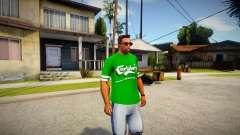 T-shirt Carlsberg para GTA San Andreas