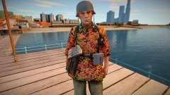 Waffen SS Soldat Camouflage para GTA San Andreas