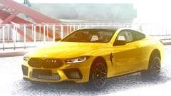 BMW M8 Gold para GTA San Andreas