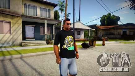 HQ Shirt Hanker Toxic para GTA San Andreas