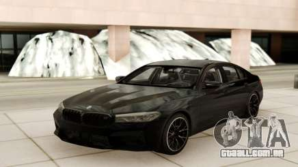 BMW M5 Competition Black Style para GTA San Andreas