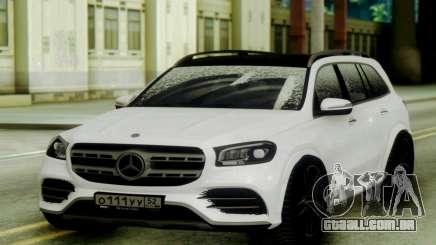 Mercedes-Benz GLS Snow para GTA San Andreas